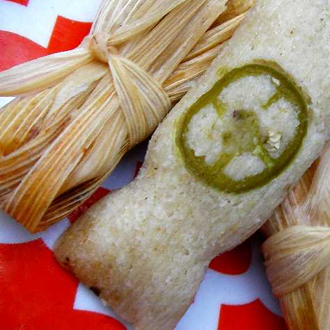 My Tamales: Tiny and Pork Cheek Filled