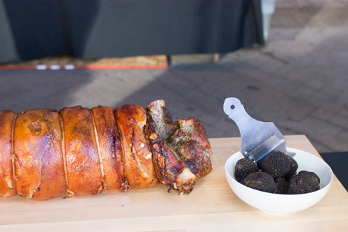 Beast of Feast PDX- Lardo Display