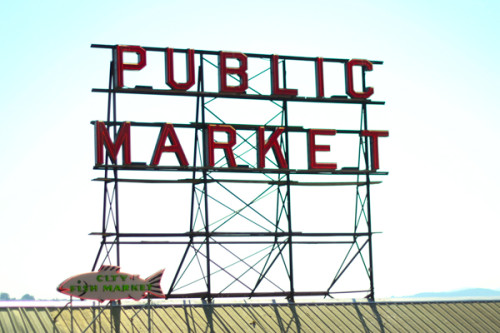 Pike Place Fish Sign